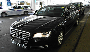 Audi A8 Luxury Airport Chauffeur Car from Swindon