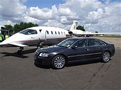 Swindon Luxury Chauffeur Car delivers you to your private Jet