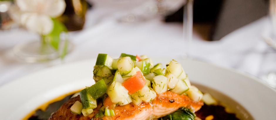 Fisch auf den Tisch