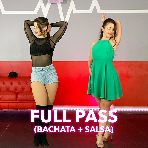 Full Pass (Salsa + Bachata)