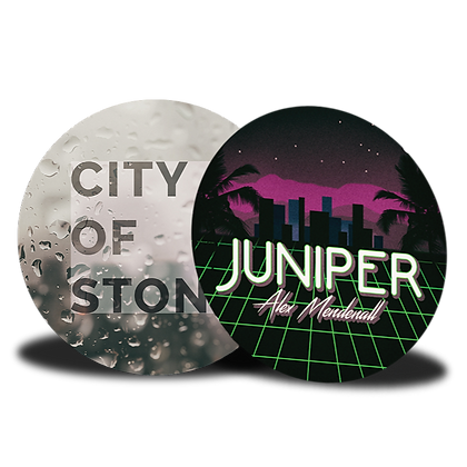 Set of 2 Buttons: City of Stone Combo
