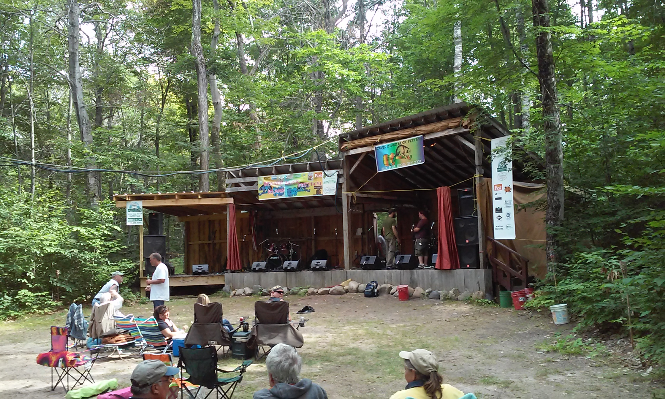 Beaver Island Stage