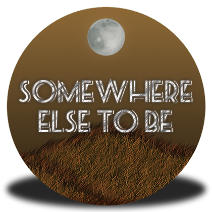 """Somewhere Else to Be"" Button"