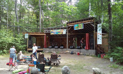 Beaver Island Music Festival Stage