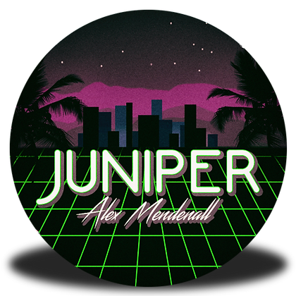 """""""Juniper"""" Button"""