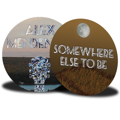 Set of 2 Buttons: Somewhere Else to Be Combo