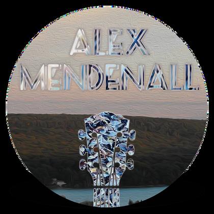 """""""Alex Mendenall"""" Button"""