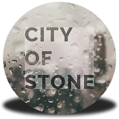 """City of Stone"" Button"