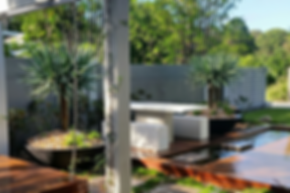 Water Feature Noosa Sunshine Coast Homes deserve Contemporary Landscaping