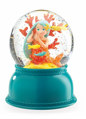 Snowglobe night Light Mermaid