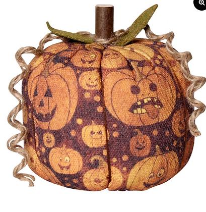 Halloween Fabric Pumpkins