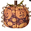 Thumbnail: Halloween Fabric Pumpkins