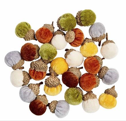 Tiny Acorn Decor Set