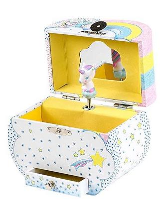 Unicorn Treasure Music Box