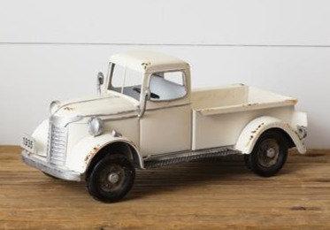 Antique White Truck - 1935