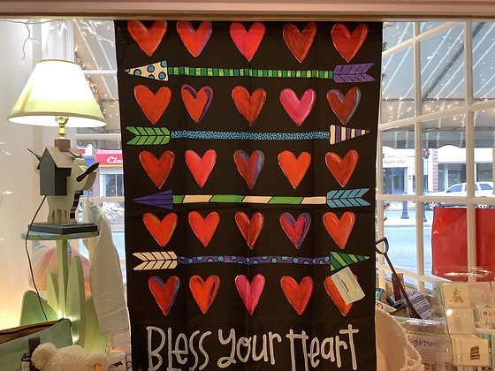 Hearts and arrows flag