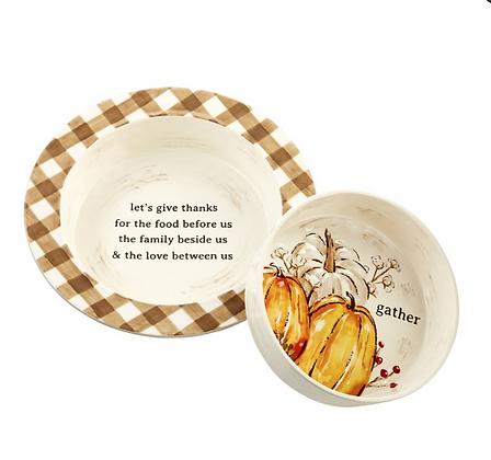 Pumpkin Baking Dish Set
