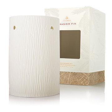 Frasier Fir White Ceramic Wax Melter