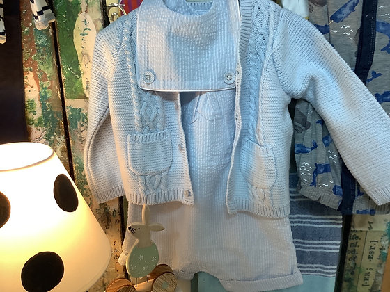 Boys romper and sweater romper 9-12 months  sweater 0-12 months $21.00