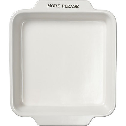 """More Please 8"""" dish from Primitives by Kathy"""