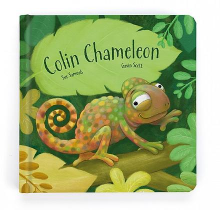 Colin Chameleon Board Book