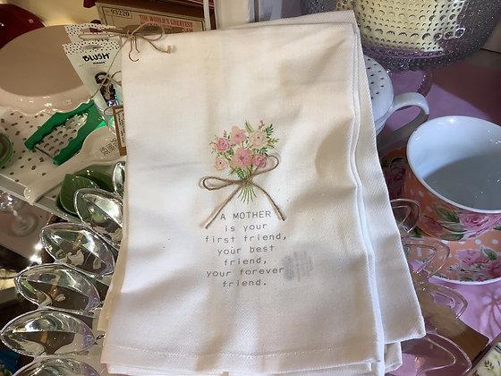 Mother tea towel