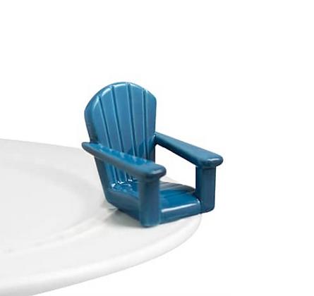 chillin' chair (blue adirondack chair)