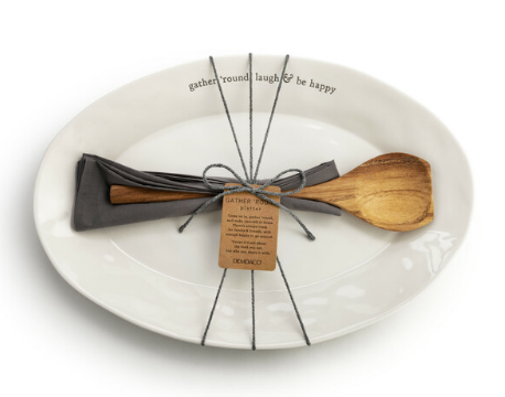 Gather 'Round Platter