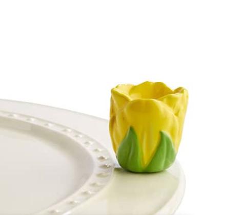 tiptoe thru 'em (yellow tulip)