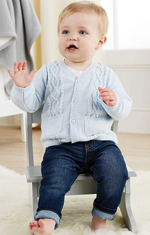 Baby Boy Blue Sweater