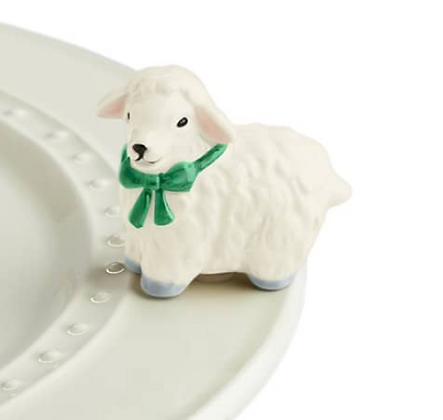 i love ewe!  (white lamb)