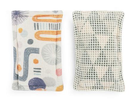 Reusable Kitchen Sponges, Set of 2