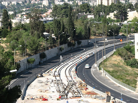 Jerusalem first LRT line