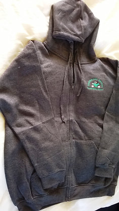 Zip-Through Hoodie with SDCVS logo