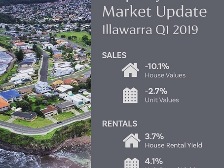 Property Market Update Q1 2019