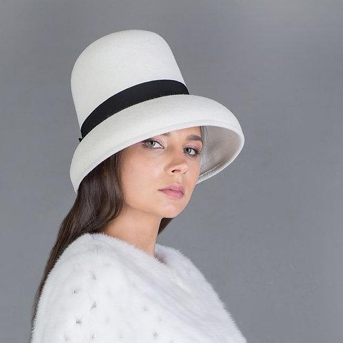 шляпа из фетра и велюра
