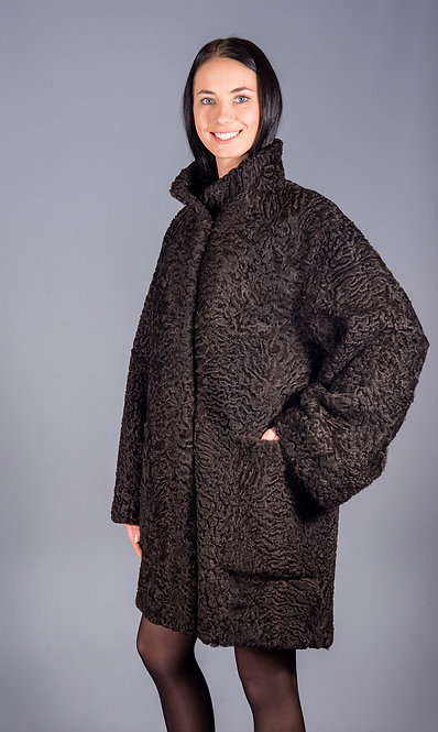 пальто каракуль