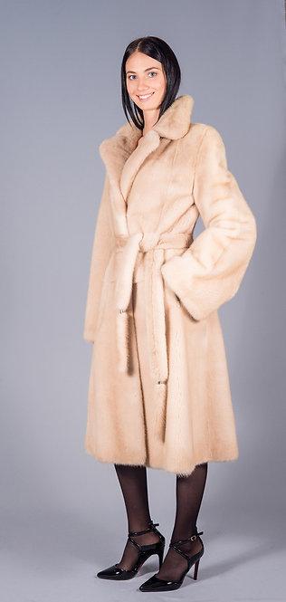 пальто норка паламина