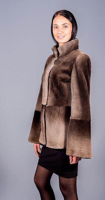 полу пальто бобр
