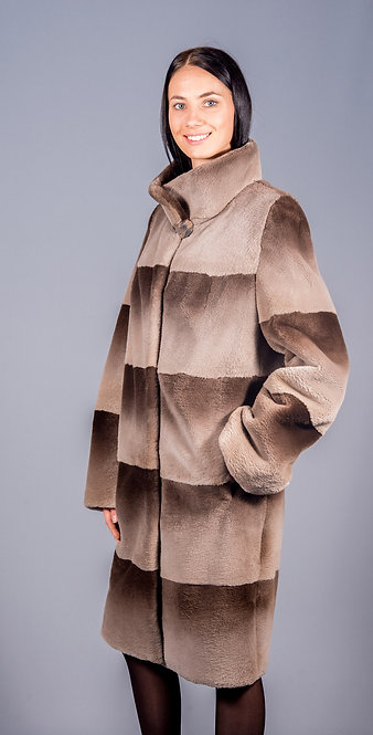 полу пальто бобер