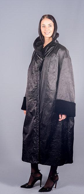 пальто бобр