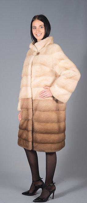 пальто норка аннет