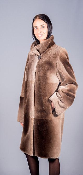 пальто бобер