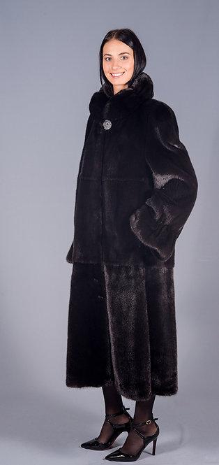 пальто норка scblack