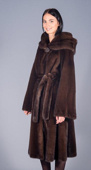 пальто норка AL