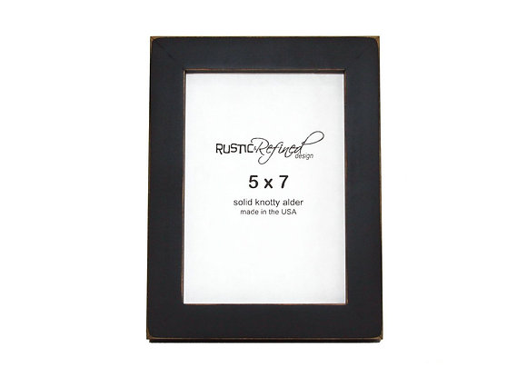 """5x7 Gallery 1"""" picture frame - Black"""