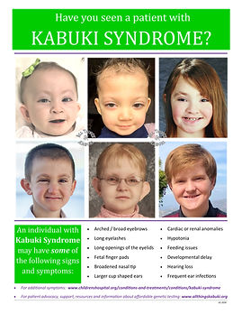Clinical Flyer - Kabuki Syndrome 2020.jp