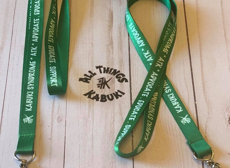 Kabuki Syndrome Lanyards *Available Now!