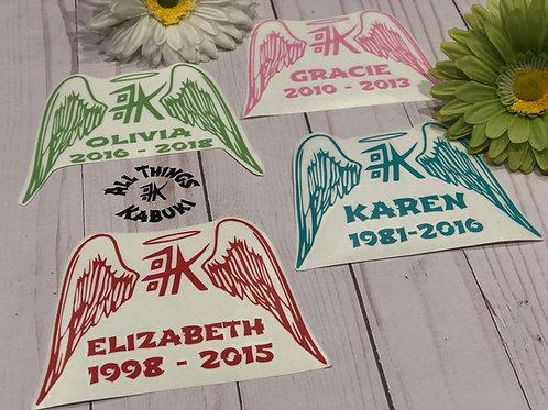 Kabuki Wings - Memorial Vinyl