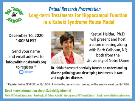 Virtual Research Presentation Opportunity!